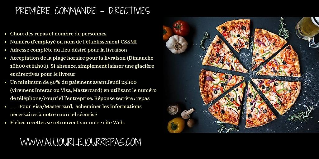 PremiereCommande - Directives